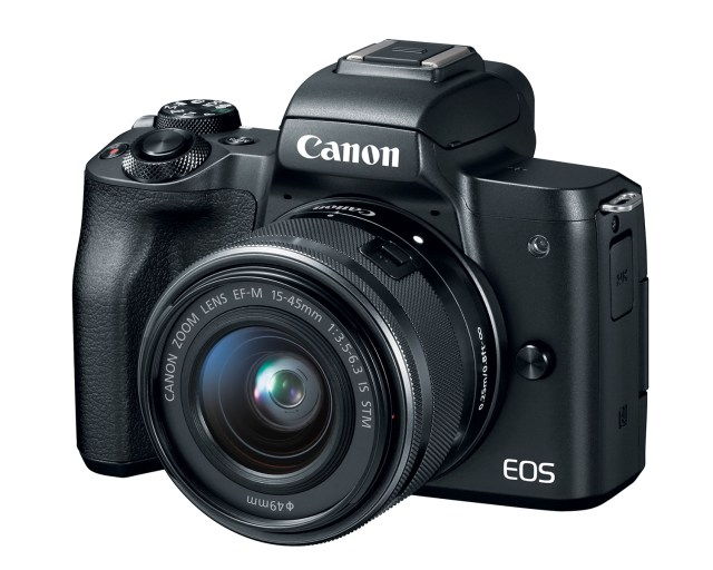 New Canon EOS M mirrorless camera has 4K video chops