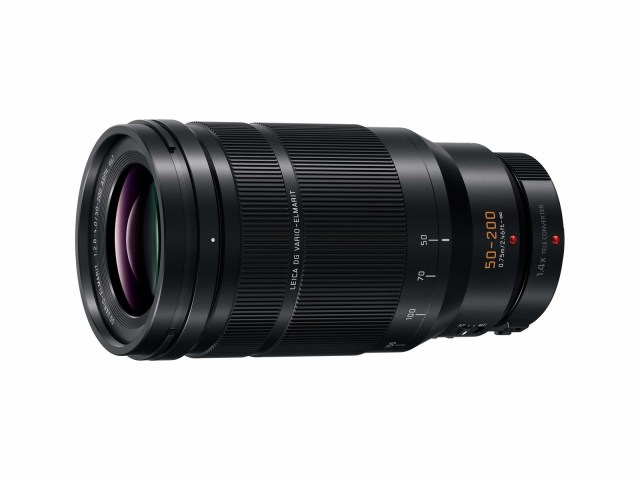 Panasonic debuts ultra telephoto zoom lens