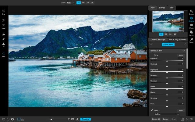 ON1 Photo RAW 2018.1 has a major update