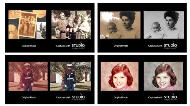 Legacy Republic launches portable photo album, scrapbook device