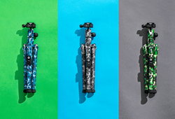 MeFOTO adds camo to the BackPacker Air Family of ultra compact travel tripods