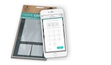 Packaging with Framecard code