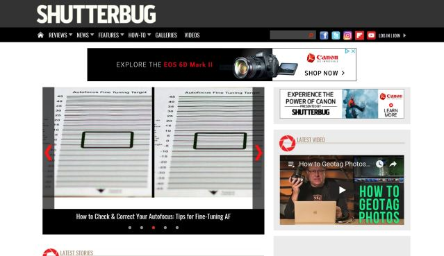 Shutterbug moves forward as web-only publication