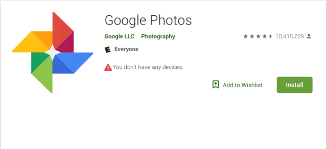 Google Photos app adds photo grouping feature