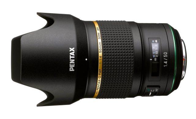 Ricoh introduces HD Pentax-D FA 50mm f/1.4 SDM AW