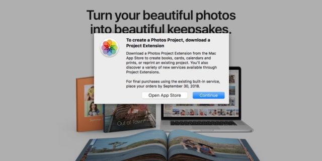Apple closing Photo Print Products Service by Sept. 30