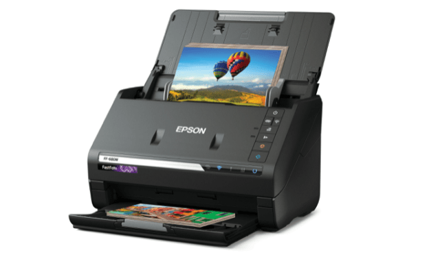 Epson FastFoto FF-680W high-speed photo and document scanning system adds wireless connectivity