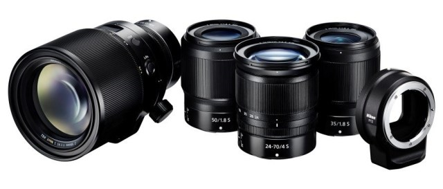 Nikon releases new Nikon lenses for Z-system, mount adapter FTZ, and develops Z 58mm f/0.95 S Noct