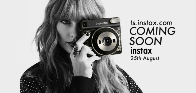 """Fujifilm launches """"instax SQUARE SQ6 Taylor Swift Edition"""", designed by instax global partner Taylor Swift."""