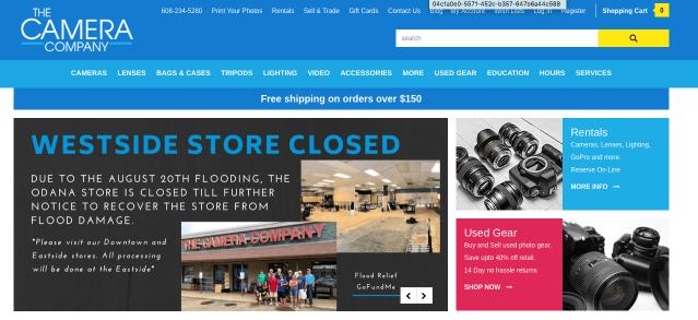 Madison's The Camera Company flooded; GoFundMe established to help