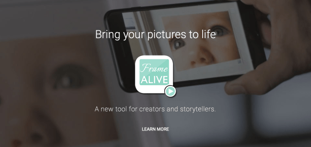 FrameALIVE is a new hybrid imaging service for prints and videos