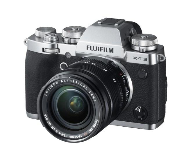 Fujifilm announces X-T3 mirrorless camera with new 26MP X-Trans CMOS sensor