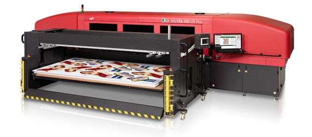 Custom Color adds capacity with new high-speed EFI VUTEk inkjet press