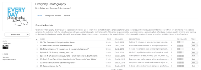 """neomodern adds """"Everyday Photography"""" podcast"""