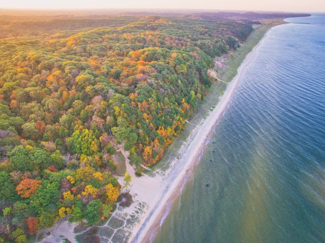 Michigan takes the 2018 top spot for Fall Foliage Photography in Nikon's annual nationwide campaign