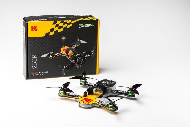 Thrust-UAV and Kodak announce sport drone launch
