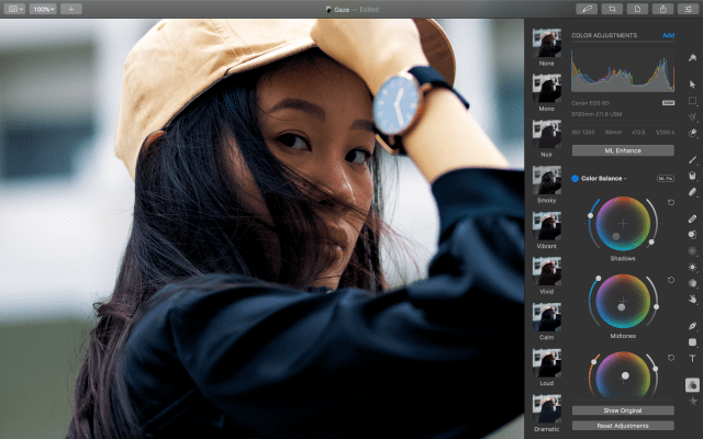 Pixelmator Pro update adds professional color grading tool
