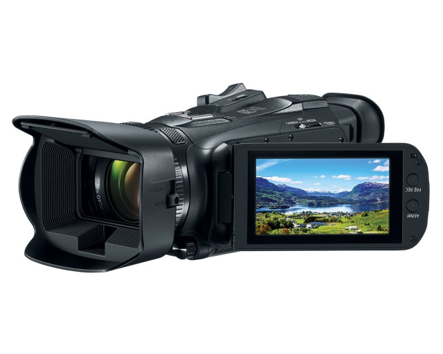 Canon introduces VIXIA HF G50 4K UHD Video Camcorder