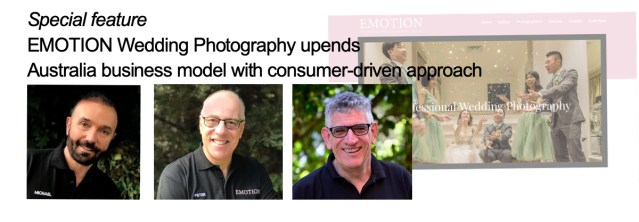 EMOTION Wedding Photography upends Australia business model with consumer-driven approach