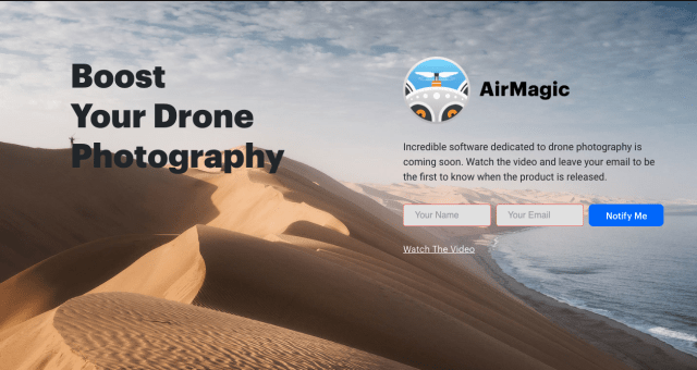 Skylum announces upcoming AirMagic software for drone photography