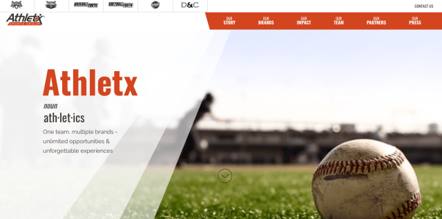 Glossy Finish named the official photographer of Athletx Sports Group