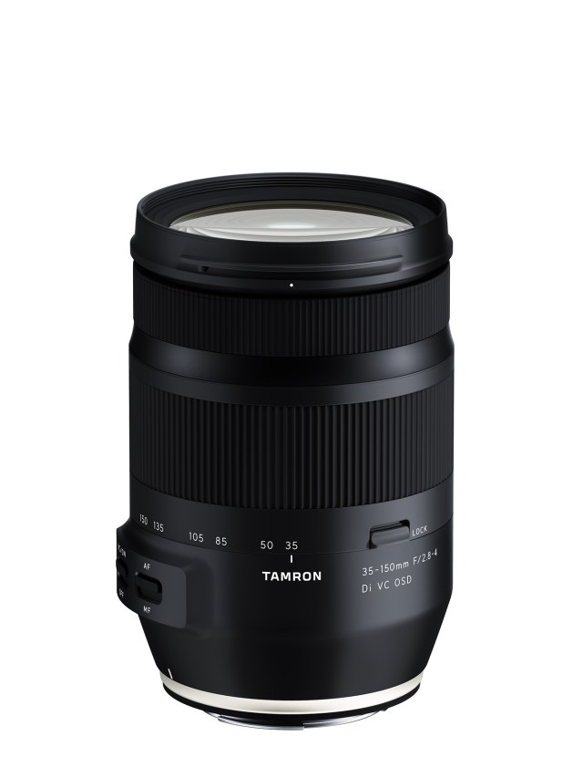 Tamron launches portrait zoom 35-150mm F/2.8-4 Di VC OSD