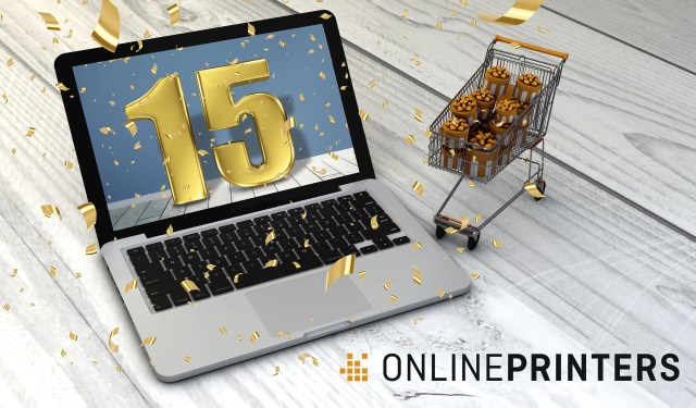 Onlineprinters celebrates 15 years of e-commerce