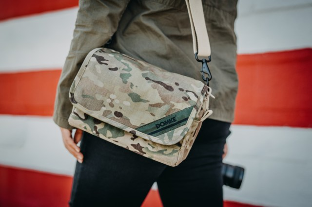 Domke releases limited edition camouflage camera bags to honor U.S. military