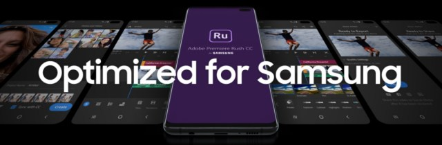 Adobe Premiere Rush for Samsung launches for Galaxy Users