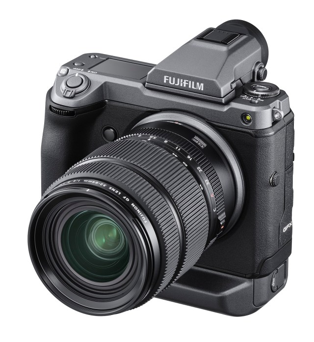 Fujifilm introduces 100 MP mirrorless camera