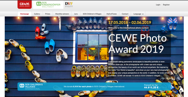 CEWE Photo Award 2019 is the largest photography competition in the world