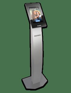 Fujifilm GetPix Quick kiosk pedestal configuration