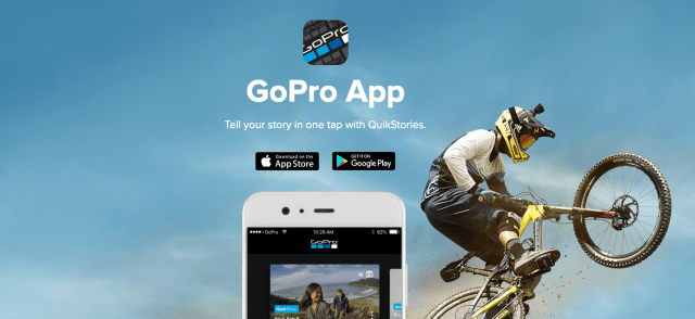 GoPro, Quik apps combine for one mobile editing experience