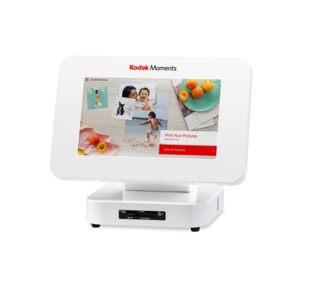 Kodak Moments launches compact photo printing kiosk