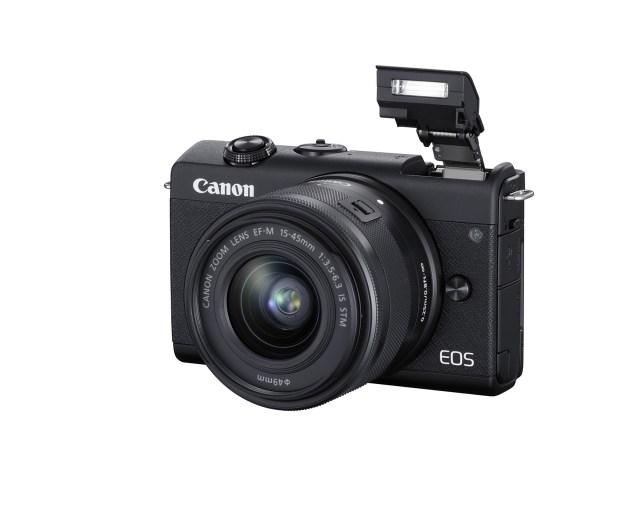 Canon introduces Canon EOS M200 mirrorless camera