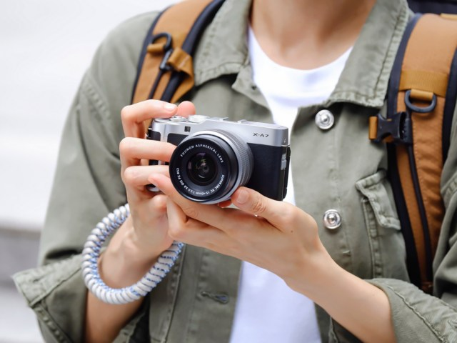 Fujifilm introduces X-A7 mirrorless camera with lens kit