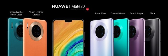 Huawei rethinks the smartphone with its quad-camera HUAWEI Mate 30 series