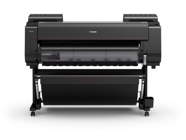 Canon debuts wide-format printers, cutter and software combo