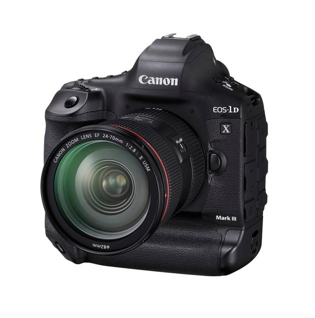 Canon debuts Canon EOS-1D X Mark III DSLR
