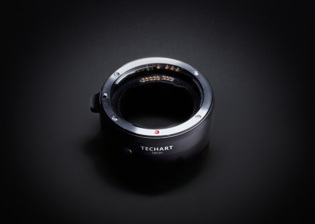 Techart unveils Canon EF to Nikon Z adaptor