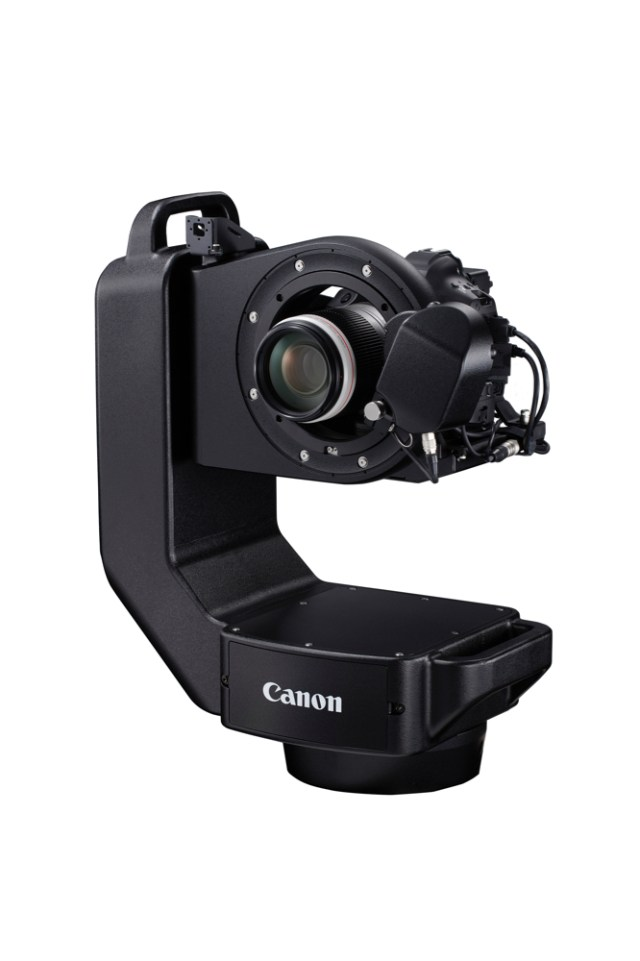 Canon introduces CR-S700R Robotic Camera System