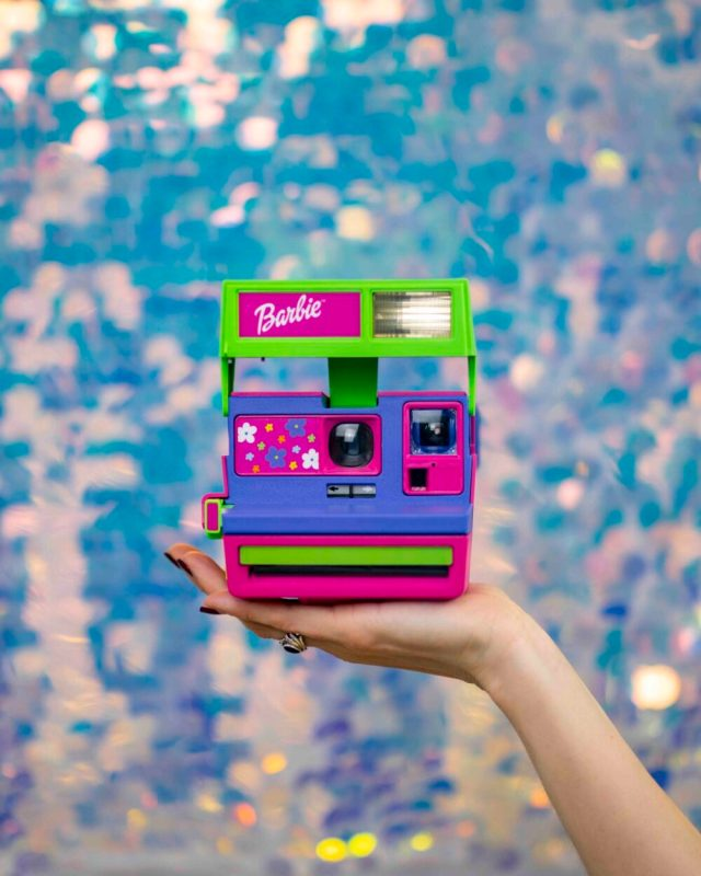 Retrospekt reimagines iconic 90's Barbie Polaroid instant film camera