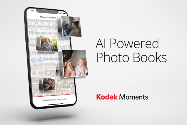 Kodak Moments shows gains with AI-driven photobooks