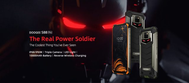 DOOGEE introduces the S88 Pro IP68 rugged phone with triple camera