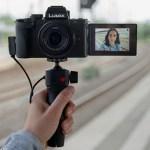 Panasonic debuts LUMIX G100 vlogging camera