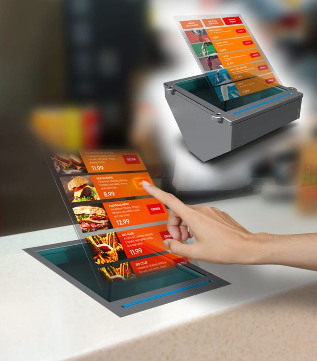 Holo Industries develops contactless-touch holographic products for germ-free interaction