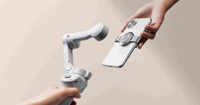 DJI releases DJI OM 4 Smartphone magnetic stabilizer