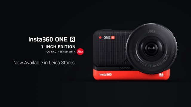 Insta360 ONE R 1-Inch Edition 'co-engineered with Leica' is available in Leica Stores