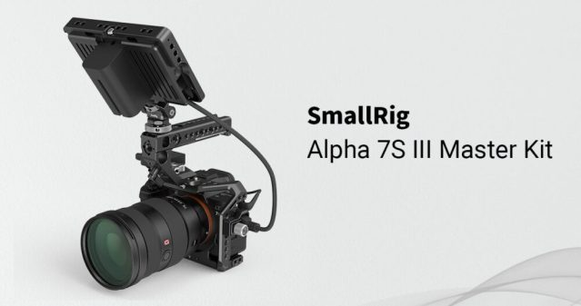 SmallRig announces the Master Kit for Sony Alpha 7S III