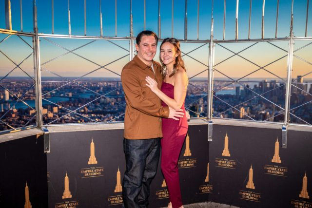 Empire State Building Observatory offering free engagement photos Oct. 10